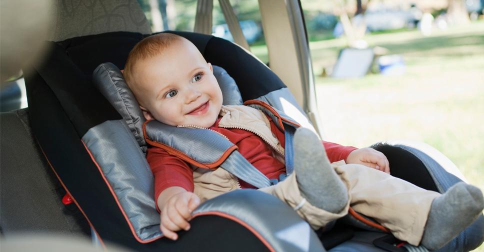 segurança da cadeirinha bebê conforto